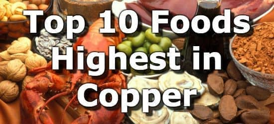 Top 10 Foods Highest in Copper