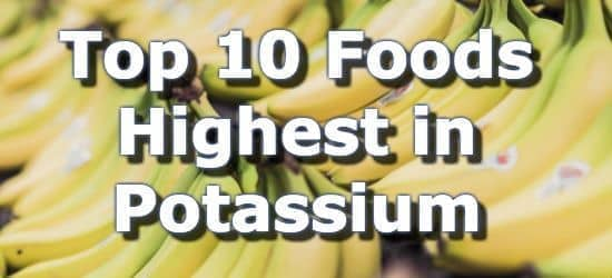 Top 10 Foods Highest in Potassium + One Page Printable