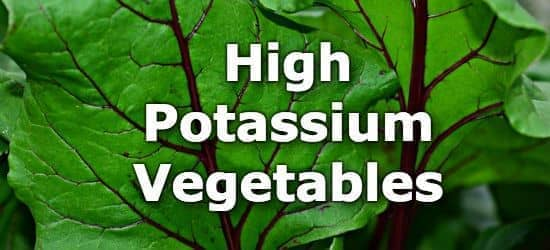 33 Vegetables High in Potassium - A Ranking from Highest to Lowest