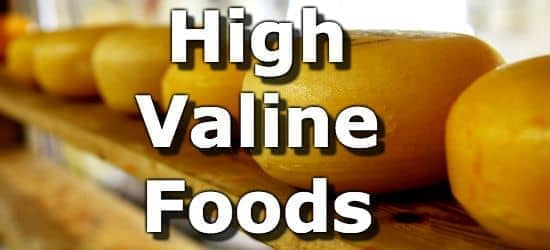 Top 10 Foods Highest in Valine