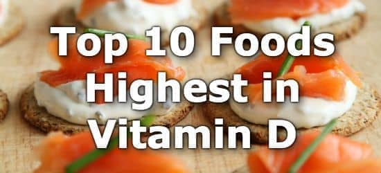 Top 10 Foods Highest in Vitamin D + Printable One Page Sheet