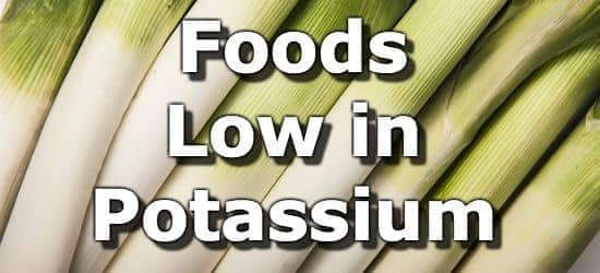 Top 10 Foods Lowest in Potassium For People with Kidney Disease