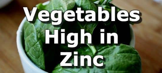 Top 10 Vegetables Highest in Zinc