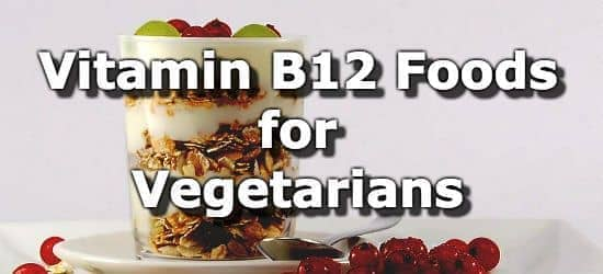 Vitamin B12 Foods for Vegetarians + Infographic